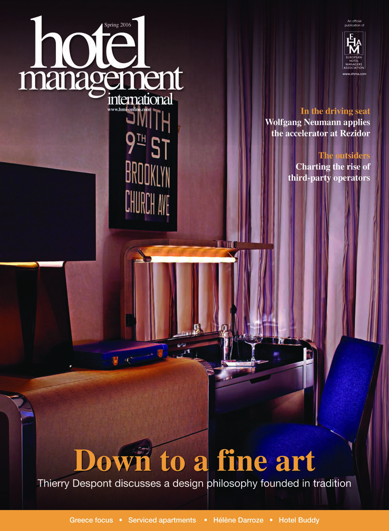 Hotel Management International Spring 2016