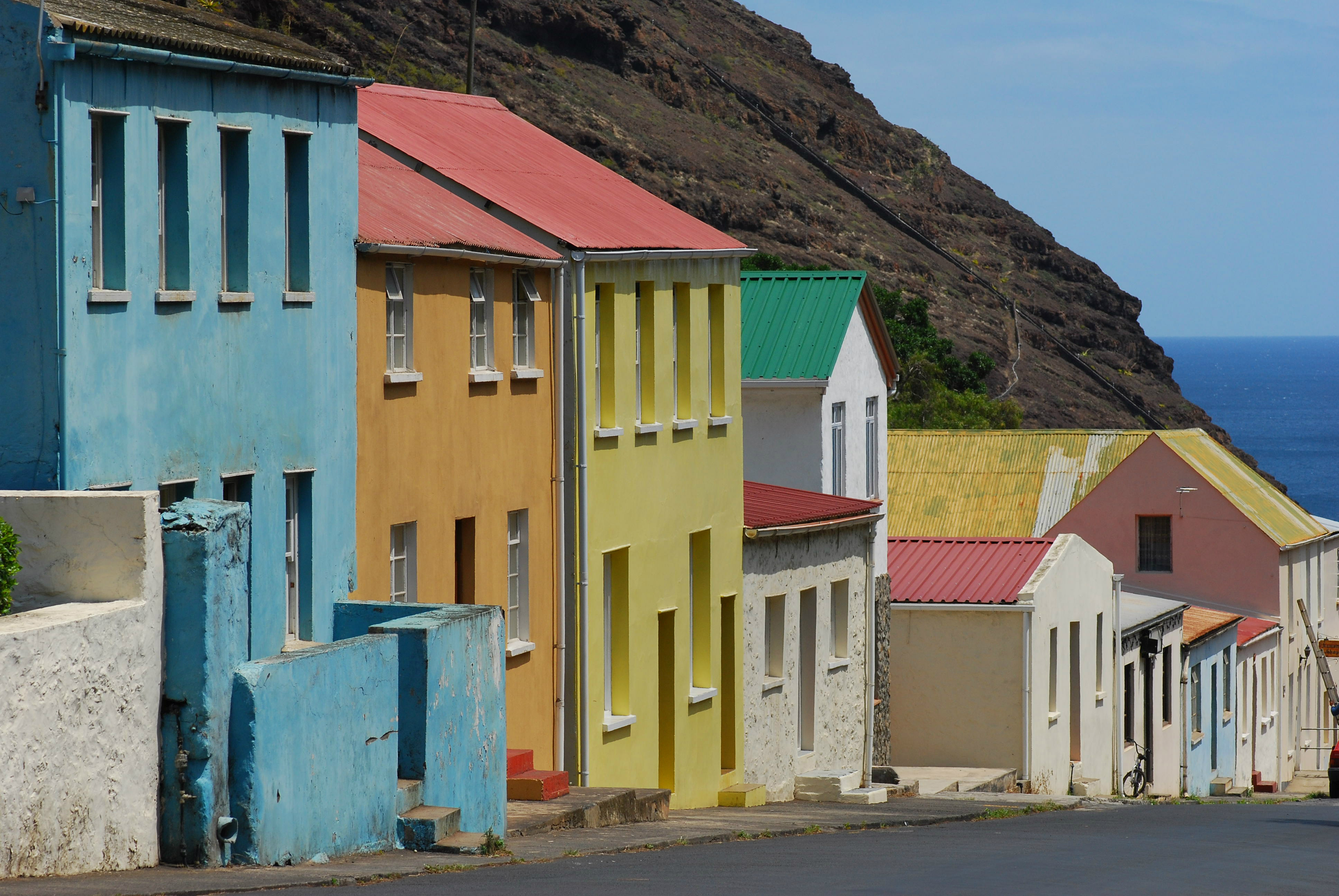 The Site Of Development Is In Jamestown Beautiful Capital City St Helena S